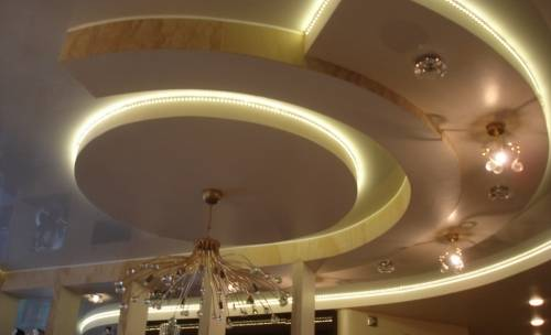 Двухуровневый потолок из гипсокартона своими руками (65 фото): как сделать двухуровневую конструкцию с подсветкой