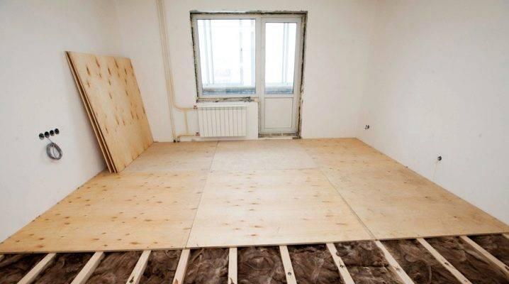 Замена и ремонт пола в хрущевке: способы реставрации старого основания