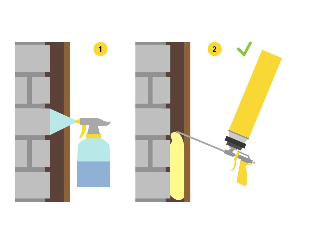 Монтажная пена при минусовой температуре: правила применения и эксплуатации, какой можно работать зимой, температура хранения