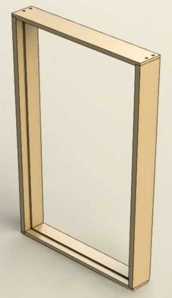 Как собирается коробка межкомнатной двери
