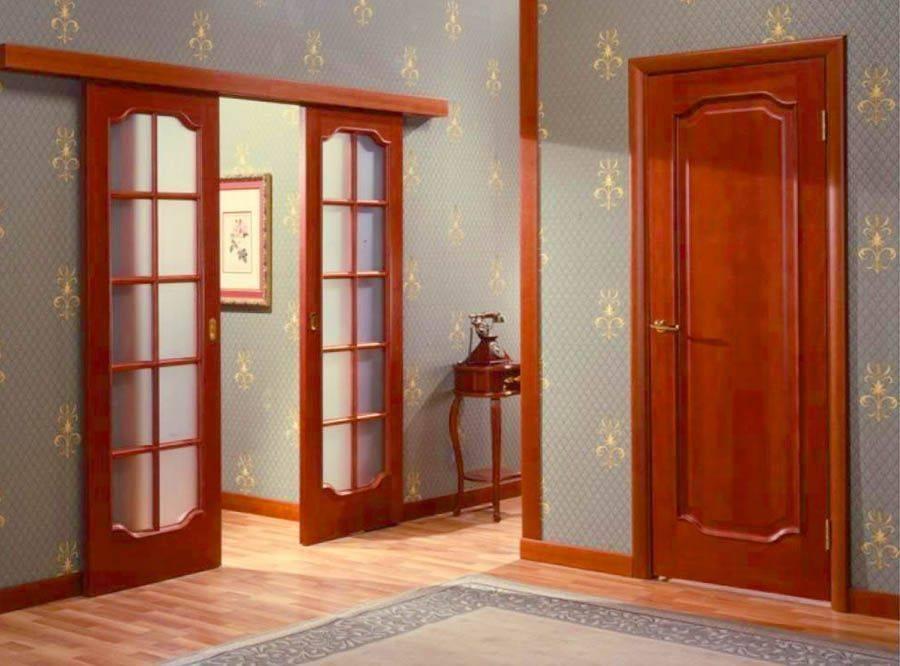 Размеры дверной коробки, в том числе стандартные, а также алгоритм замера