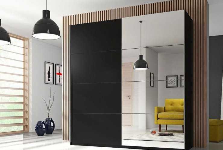 Шкаф-купе в спальню (70+ фото): современный дизайн и виды в 2020 году