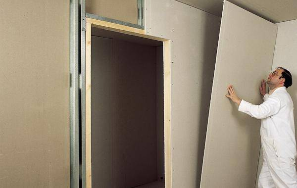 Выравнивание стен гипсокартоном: делаем своими руками с пошаговой инструкцией