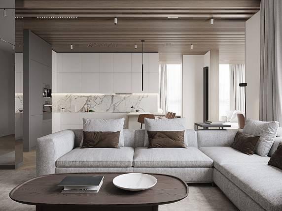 Дизайн квартиры в светлых тонах (36 фото). современный интерьер