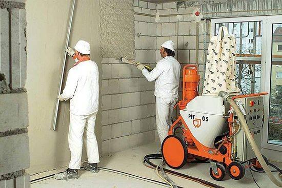 Раствор для штукатурки стен своими руками: цементный, пропорции