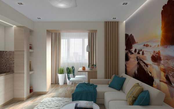 Дизайн однокомнатной квартиры — 35 решений на любой вкус - уютный дом