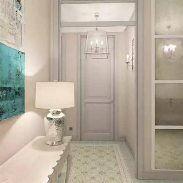 Светлый пол в сочетании со светлой дверью — стильный декор и фото