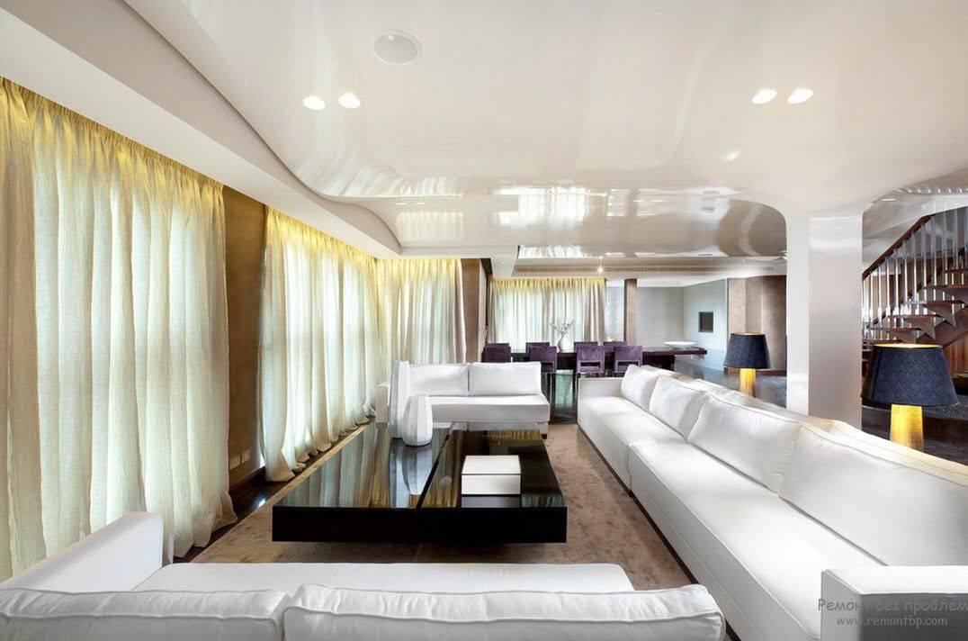 Гостиная 30 кв. м. – красивый, современный дизайн и самые популярные стили (100 фото)