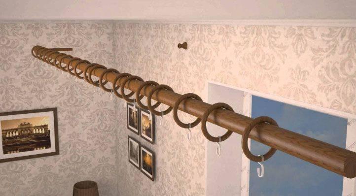 Как повесить карниз для штор на стену? крепление настенного карниза, как прикрепить и установить кронштейны, как правильно вешать пластиковый и деревянный вариант
