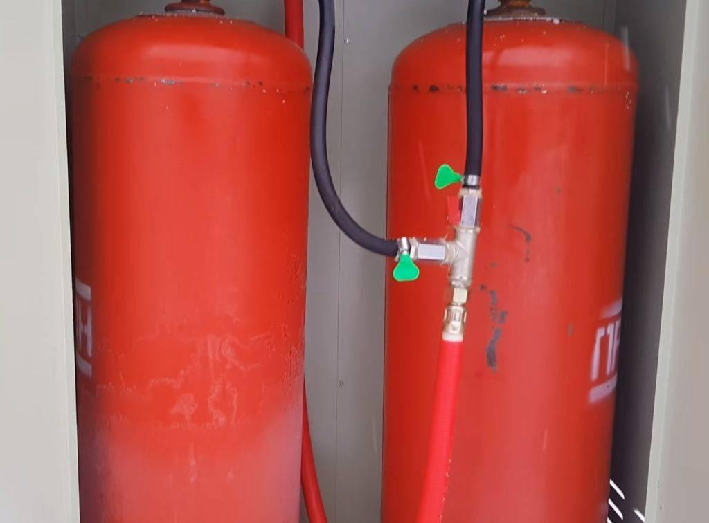 Как выбрать надежный газовый баллон для дачи