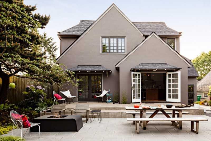 Красивый цвет фасада или как покрасить дом в 2019 году (с фото)