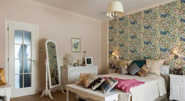 Фотообои для спальни: дизайн интерьера спальни с фотообоями на стенах и над кроватью, какие выбрать