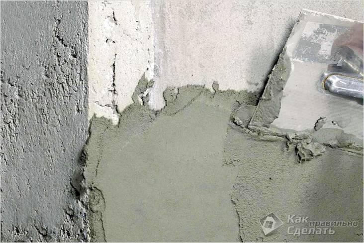 Подготовка стен к оштукатуриванию: кирпичных, бетонных