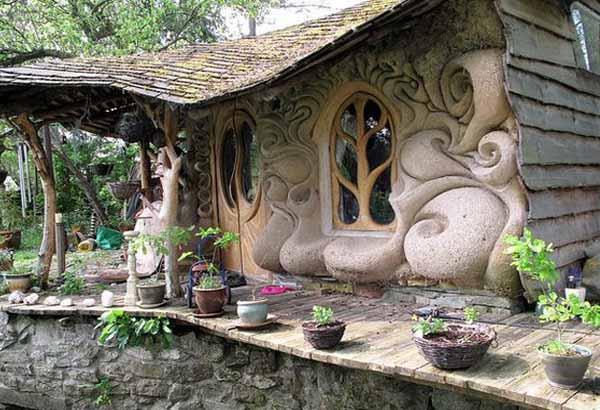 Недорогой дачный дом из глины своими руками: 50 фото