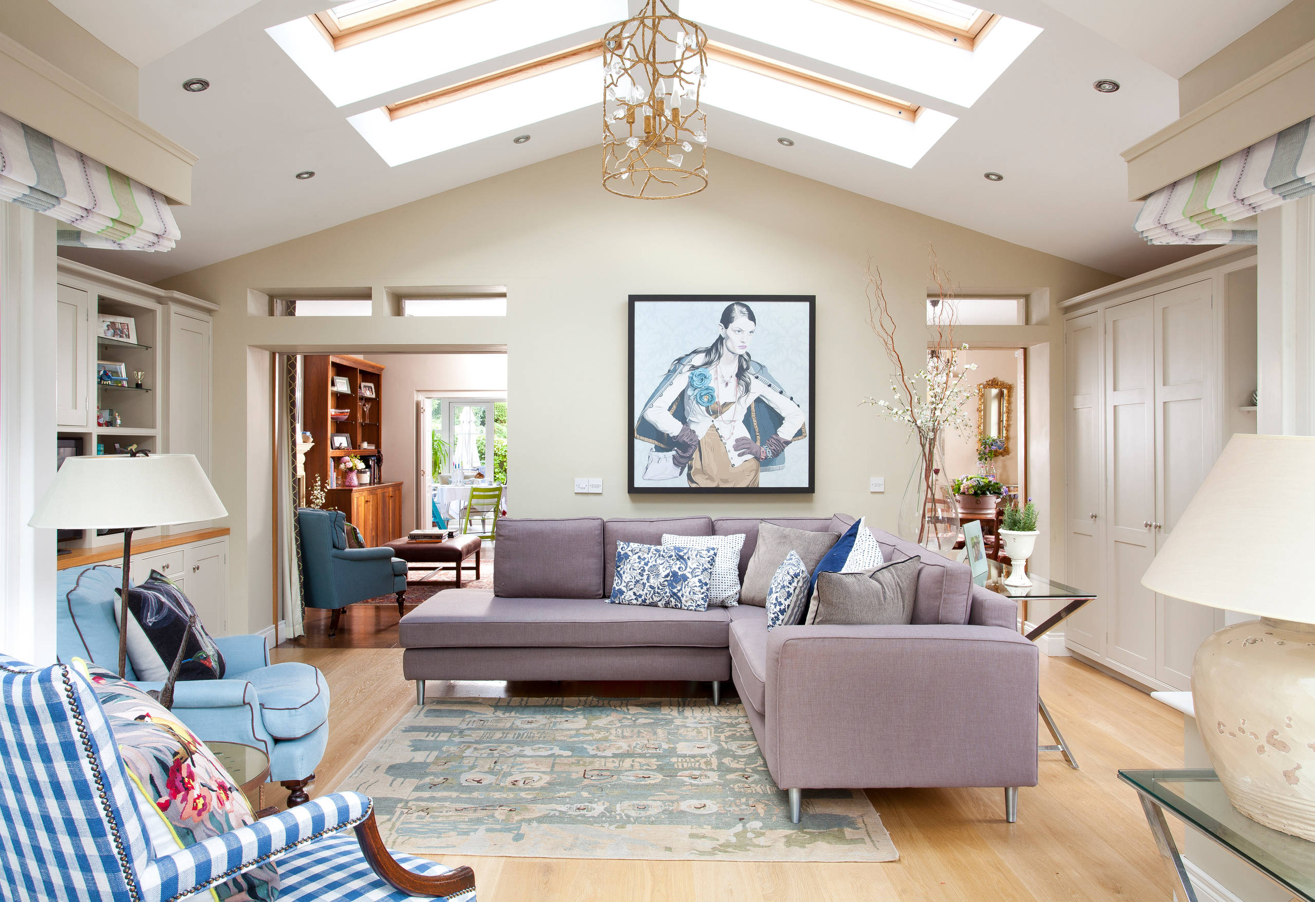 Как подобрать угловую мебель для гостиной, популярные конструкции