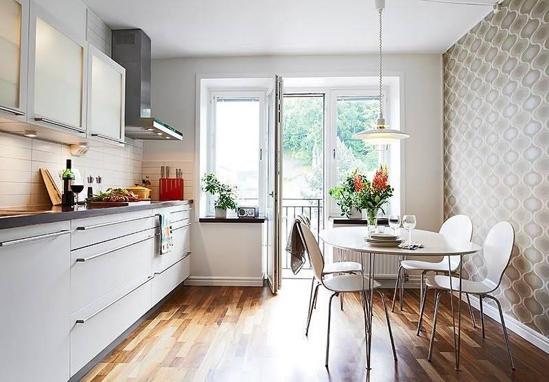 Интерьер узкой кухни – лучшие идеи дизайна и расстановки мебели (80 фото)