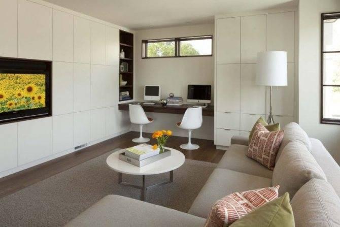 Дизайн гостиной спальни: 75 идей организации пространства