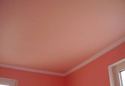 Отделка потолка под покраску: пошаговая инструкция, фото, видео
