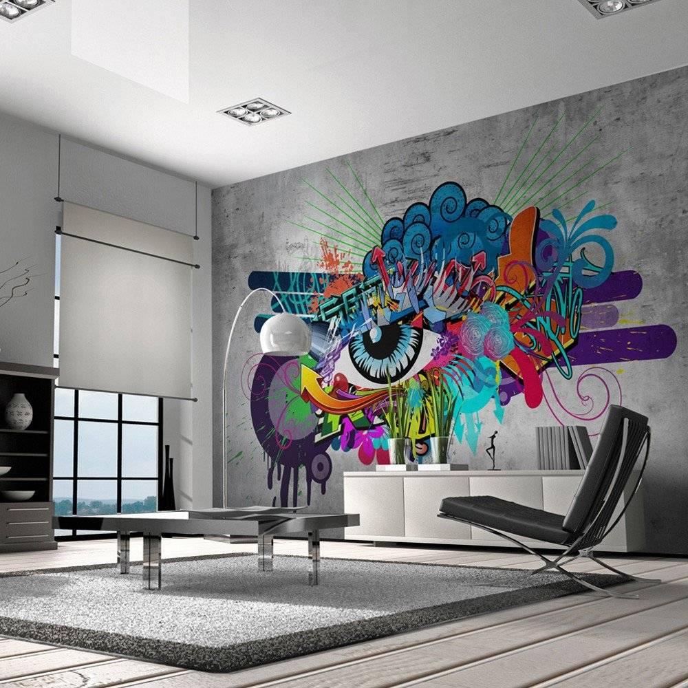 Креативные рисунки на стенах в квартире