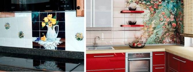 Как правильно сделать укладку фартука на кухне из плитки - пошагово