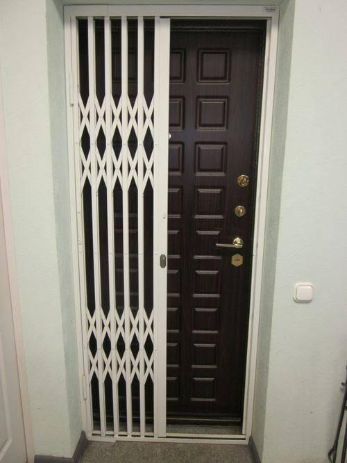 Металлические решетчатые двери - купить в красногорске по цене от 8000 руб.