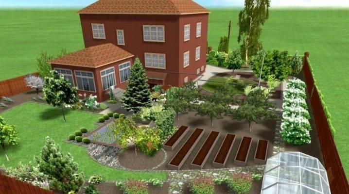Ландшафтный дизайн дачного участка (фото): 6 соток своими руками, фото ландшафтный дизайн дачного участка (фото): 6 соток своими руками, фото