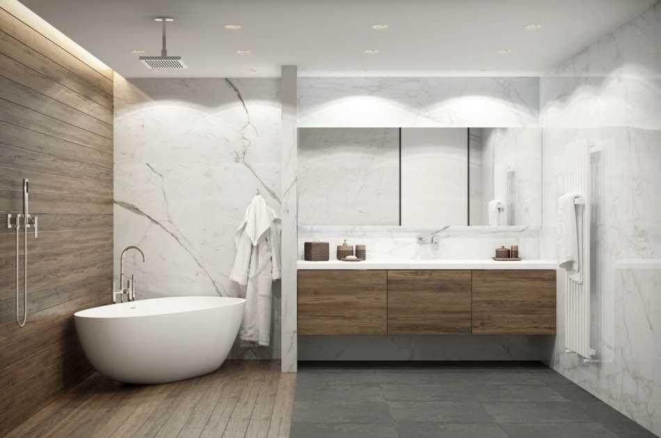 Современная ванная - 100 фото и видео размещения мебели, обзор лучших моделей ванн и подбор оборудования