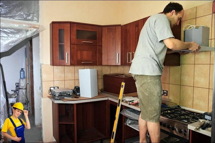 Как сделать ремонт на кухне своими руками: с чего начать, недорого | ремонтсами! | информационный портал
