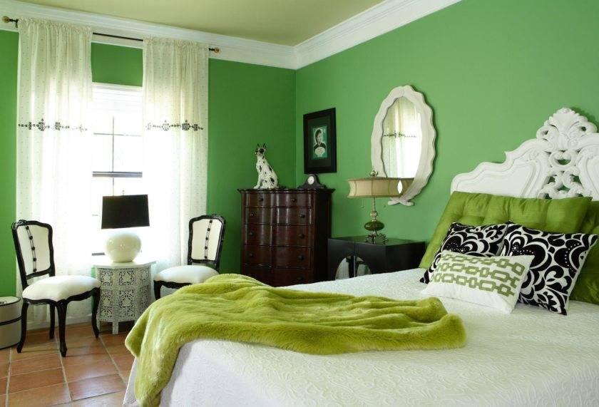 Зеленые обои в интерьере: 200+ (фото) дизайна для стен