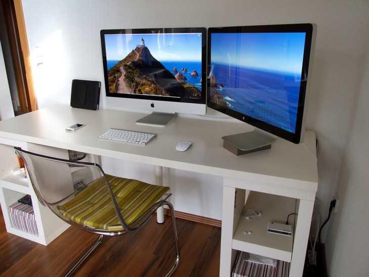 Угловой компьютерный стол - 100 фото идей как оформить в интерьере