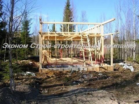 Строительство домов по финской технологии - этапы возведения и материалы + видео