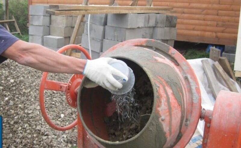 Виды и сферы применения фиброволокна для бетона