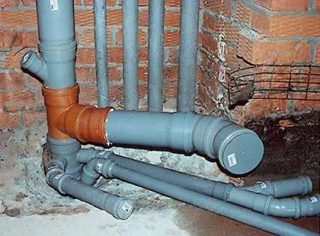 Виды заглушек для канализации и установка