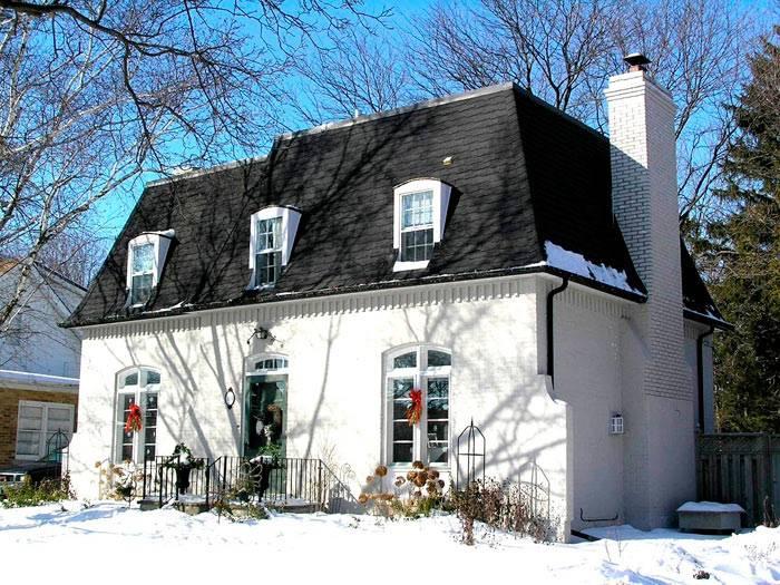 Устройство мансардной крыши частного дома: четырехскатная кровля мансардного типа, варианты строения, монтаж
