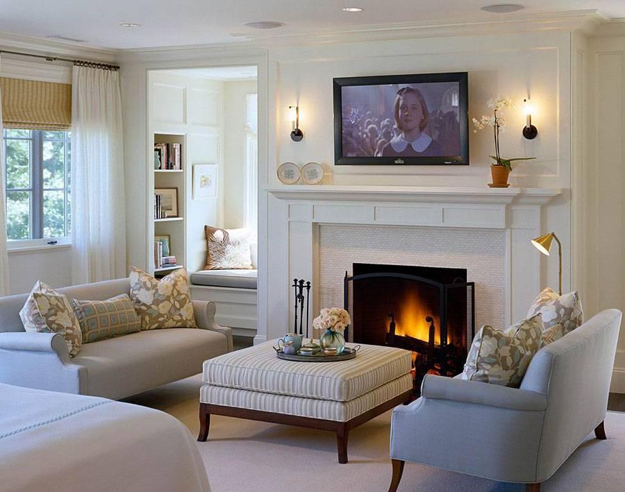Угловые камины — 70 горячих идей для классических и современных гостиных (фото)