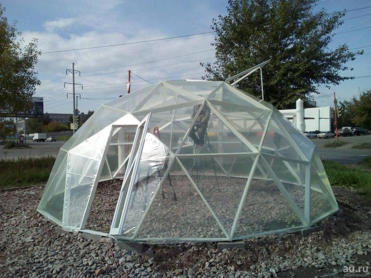 Теплица с открывающейся крышей - новое решение для вашего удобства русский фермер