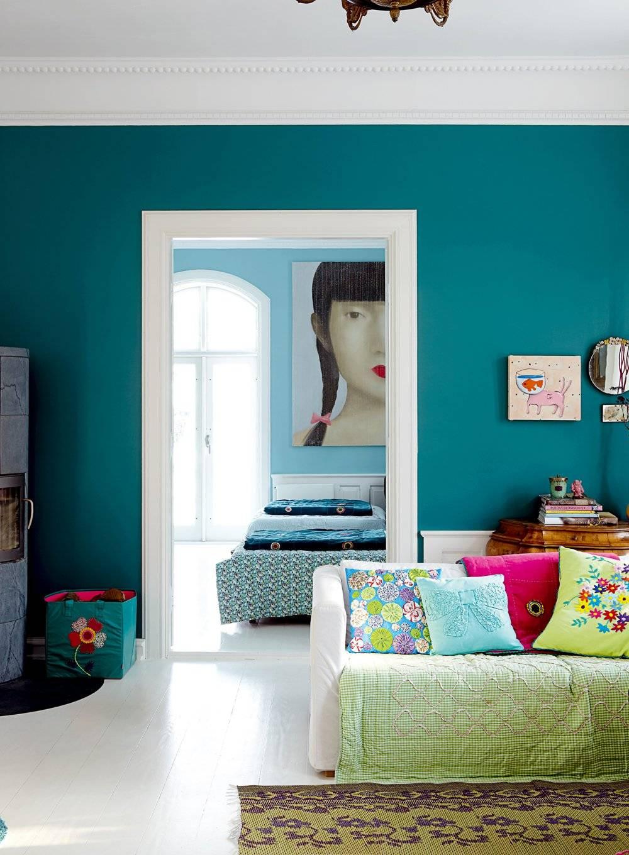 Краска для покраски обоев под покраску: чем красить, какая лучше для стены, цвета палитры, расход латексной