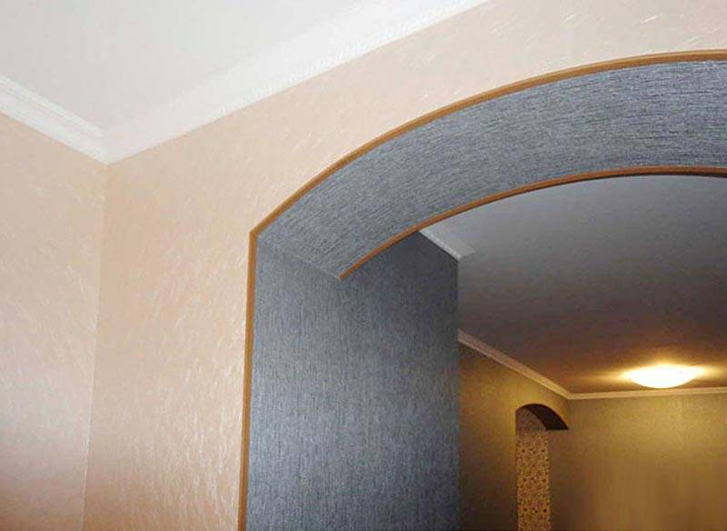 Как отделать и украсить арку в дверном проеме: оригинальные идеи оформления
