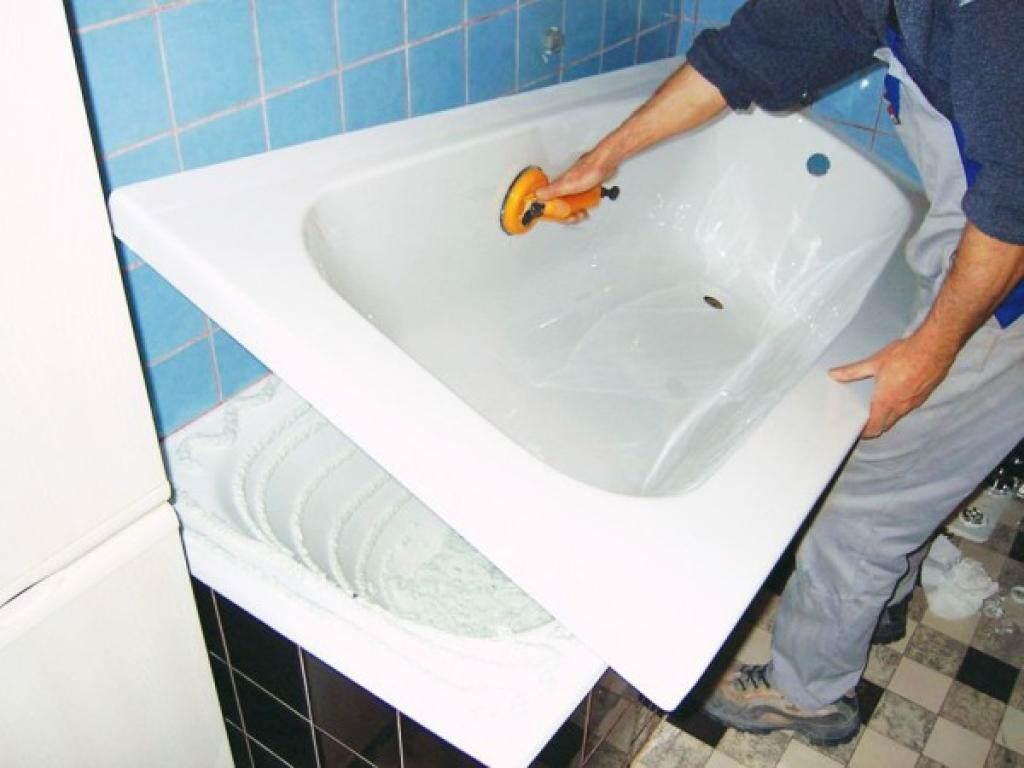Реставрация чугунной ванны, все способы | советы специалистов