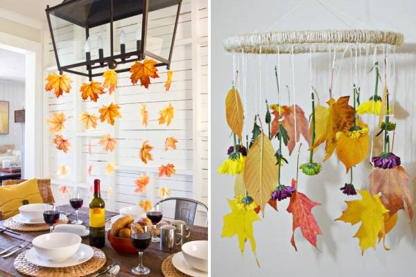 Осенний декор комнаты своими руками: как добавить атмосферу тепла и уюта вашему дому или квартире | крестик