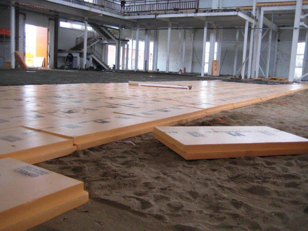 Выравнивание бетонного пола своими руками - инструкция!