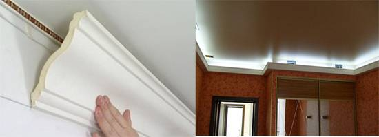 Делаем правильную подсветку в потолке