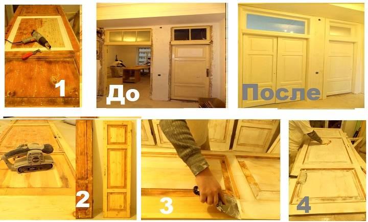 Правильно красим и лакируем деревянные межкомнатные двери своими руками в доме правильно: Пошагово