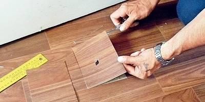 Как убрать вмятины на линолеуме - лучшие способы с инструкцией!