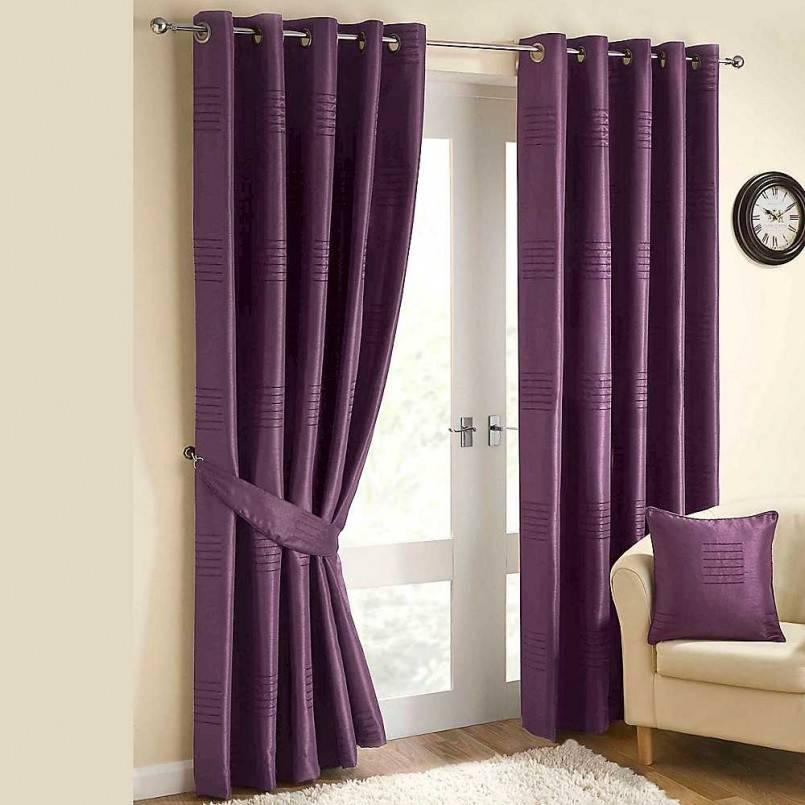 Фиолетовые шторы: 100 фото реальных идей интерьера и особенности сочетаний цвета