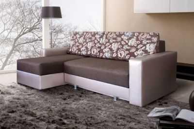 Основные формы диванов