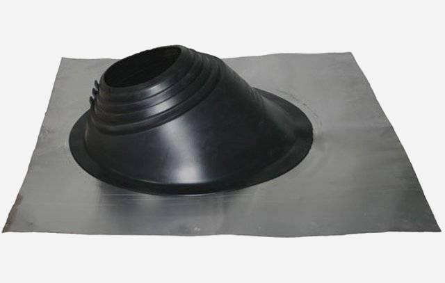 Как герметизировать трубу на крыше из профнастила