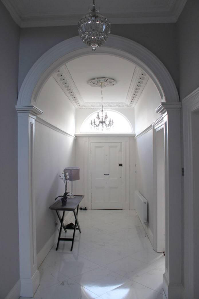Декоративная отделка арок: фото, видео, рекомендации по выполнению работ