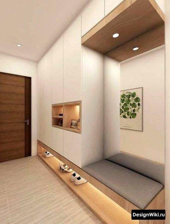 Прихожая для узкого коридора: 5 крутых идей и 77 фото