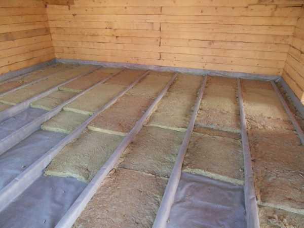Утепление пола в деревянном доме: выбор материала, виды теплоизоляции, варианты монтажа, теплый пол, важные нюансы, видео